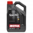 MOTUL SPECIFIC FORD 948 B 5W20 5L