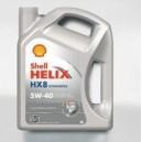 SHELL HELIX HX8 5W-40 4L
