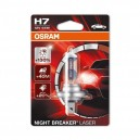 OSRAM H7 55W 12V BLISTER NIGHT BREAKER LASER +130% 1gb.
