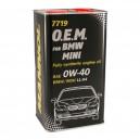 Motoreļļa Mannol O.E.M. BMW Mini 0W-40 4 litr.