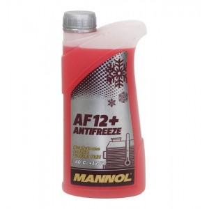 Антифриз Mannol Longlife AF12+ -40°C 1 ltr.
