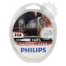 PHILIPS Spuldze H4 (Kompl. 2gab.) VisionPlus Plus 60%