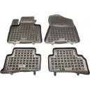Grīdas paklāji (Kompl., gumijas, 4gab., melns) HYUNDAI