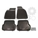 Grīdas paklāji (gumijas, 4gab., melns) AUDI A4 11.00-06.08