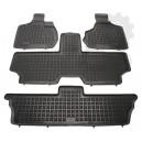 Grīdas paklāji (gumijas, 4gab., melns) CHRYSLER VOYAGER IV 02.00-12.08