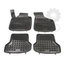 Grīdas paklāji (gumijas, 4gab., melns) AUDI A3 05.03-03.13