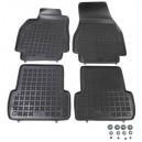 Grīdas paklāji (gumijas, 4gab., melns) RENAULT MEGANE II 11.02-