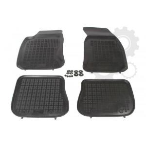 Grīdas paklāji (gumijas, 4gab., melns) AUDI A4 11.94-09.01