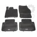 Grīdas paklāji (gumijas, 4gab., melns) AUDI Q7 03.06-08.15