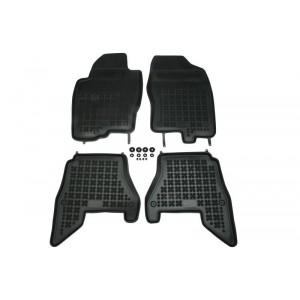 Grīdas paklāji (gumijas, 4gab., melns) NISSAN PATHFINDER III 03.05-