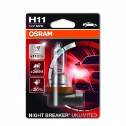 OSRAM Night Breaker Unlimited H11+110% 1GAB