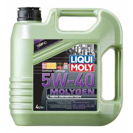 LIQUI MOLY MOLYGEN New Generation 5W40 4L
