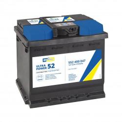 CARTECHNIC Akumulators 52Ah/470A ULTRA POWER