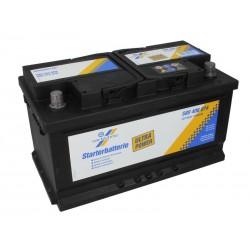 CARTECHNIC Akumulators 80Ah/740A ULTRA POWER