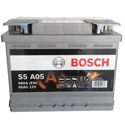 BOSCH Akumulators 60Ah/680A AGM