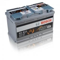 BOSCH Akumulators 80Ah/800A AGM