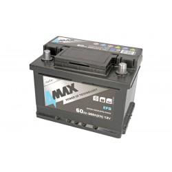 Akumulators 60Ah/560A EFB (Labais+ Standarta) 242x175x175