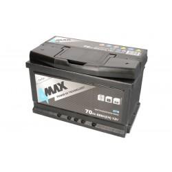 Akumulators 70Ah/650A EFB (Labais+ Standarta) 278x175x175