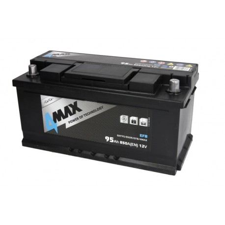 Akumulators 95Ah/850A EFB (Labais+ Standarta) 353x175x175