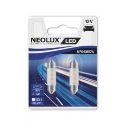 NEOLUX Spuldze C5W 36MM (2 gab., 12 V, 0,5 W, balta