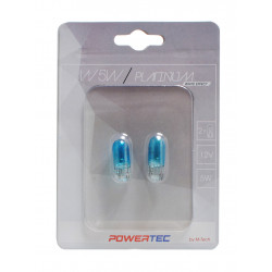 MTECH Powertec W5W T10 12V 5W WEGDE Platinum white effect