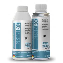 PRO TEC Dzesēšanas sistēmas eļļas attīrītājs 2-komp.