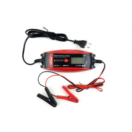 Akumulatora lādētājs 6V/12V - 2A/4A - DVL DBC-4A