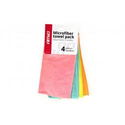 Microbfibras tīrīšanas lupatiņas 4 gab 30x30 cm