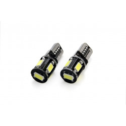 LED CANBUS 5SMD 5730 T10 (W5W) White