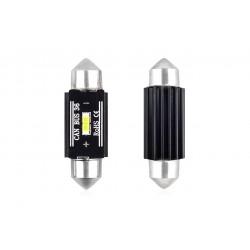 LED CANBUS 1 SMD UltraBright 1860 Festoon 36mm White 12V/24V