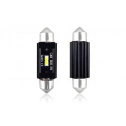 LED CANBUS 1 SMD UltraBright 1860 Festoon 39mm White 12V/24V