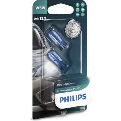 PHILIPS W5W  X-tremeVision Pro150  (blister 2pcs.)