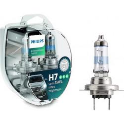 H7 PHILIPS X-tremeVision Pro150 (KOMPLEKTS 2 GAB)